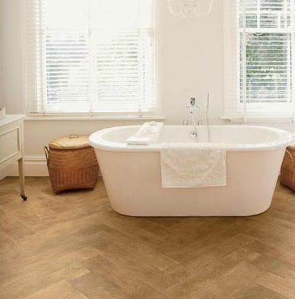 Antique Herringbone fitted
