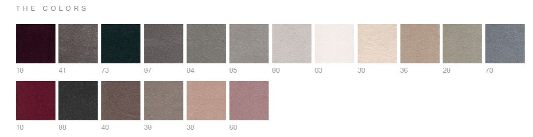 iSense Suspense Range of colours