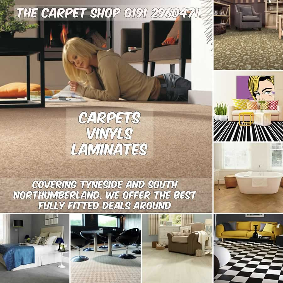 Welcome To The Carpet Shop - Supplying North Tyneside With Flooring